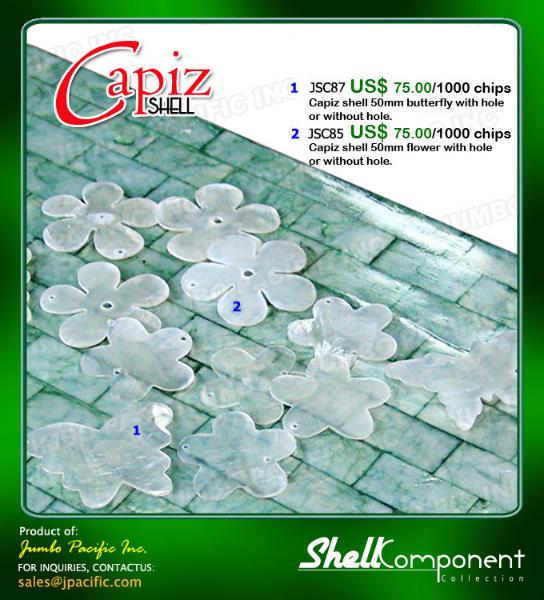 Capiz Shell Components B