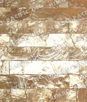 Gold 1x8 inch Rectangle Blocking Design