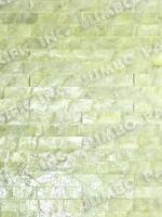 Yellow 1x8 inch Rectangle Blocking Design