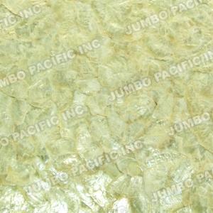 Yellow Capiz Panels in Flakes Design.