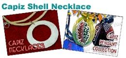 Capiz Fashion Necklace
