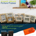 Capiz Picture Frames, Picture Frames, Capiz Shell Products,