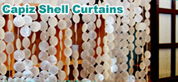 Capiz Curtains