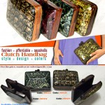 Capiz Handbags, Clutch Bags, Shell Handbags,