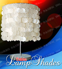 Capiz Table Lamp Shades, Capiz Table Lamps, Table Lampshades, Lampshades, Capiz Shell Products,